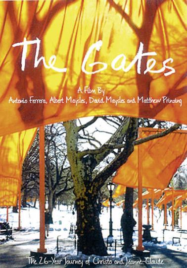 Christo & Jeanne-Claude. The Gates. DVD.