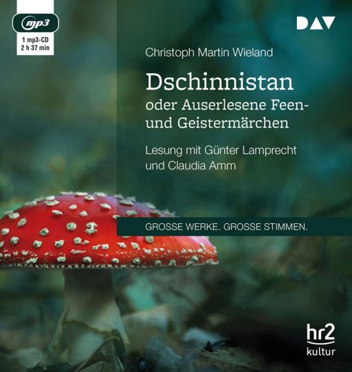Christoph Martin Wieland. Dschinnistan oder Auserlesene Feen- und Geistermärchen. mp3-CD.