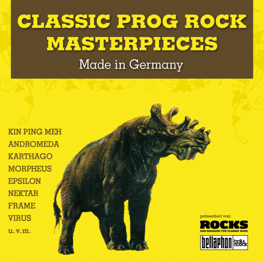 Classic Prog Rock Masterpieces. Made In Germany. CD.