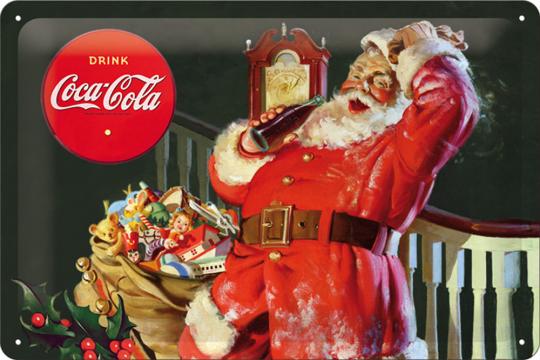 Classic Santa Claus Coca Cola quer