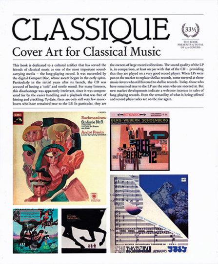 Classique. Cover Art for Classical Music.