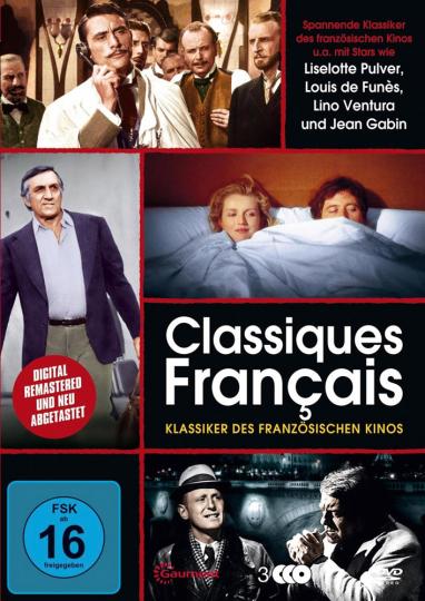 Classiques Francais. Klassiker des französischen Kinos. 3 DVDs.
