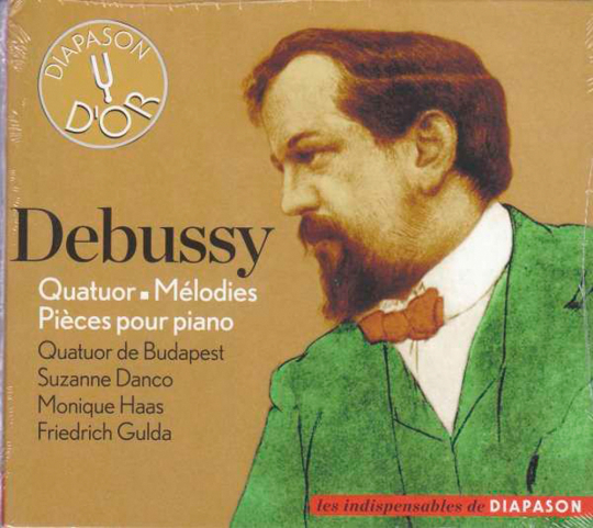Claude Debussy. Streichquartett & Stücke für Klavier.
