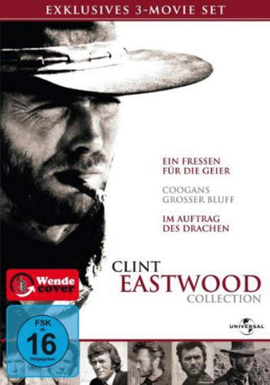 Clint Eastwood Collection. 3 DVDs.
