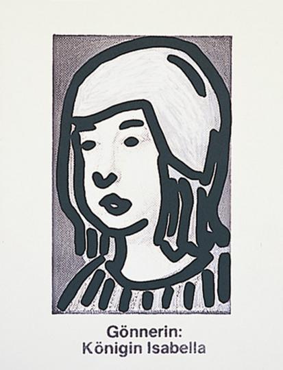 C. O Päffgen. Grafik aus »Columbus«, 1992.