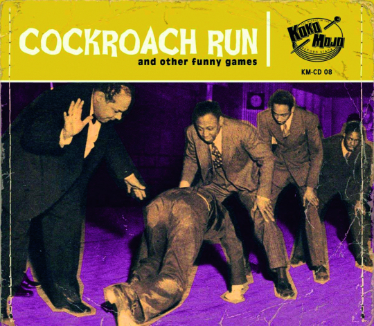 Cockroach Run. CD.