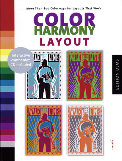 Color Harmony Layout - More Than 800 Colorways for Layouts That Work (Buch + CD)