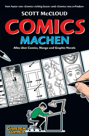 Comics machen. Alles über Comics, Manga und Graphic Novels.