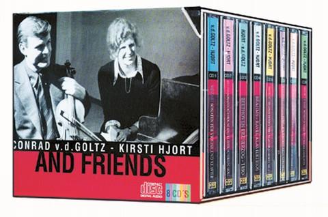 Conrad van der Goltz and Friends 8 CDs