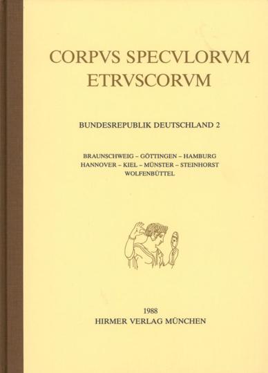 Corpus Speculorum Etruscorum Band 2.