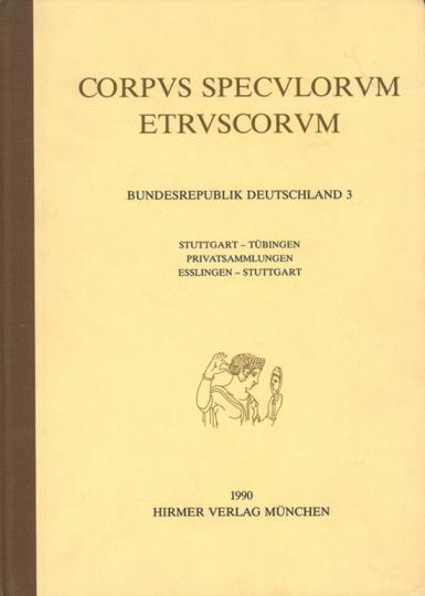 Corpus Speculorum Etruscorum Band 3.