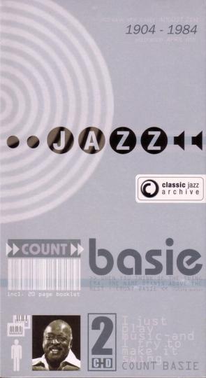 Count Basie. One O'Clock Jump / Rhythm Man. 2 CDs.