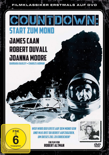 Countdown: Start zum Mond. DVD.