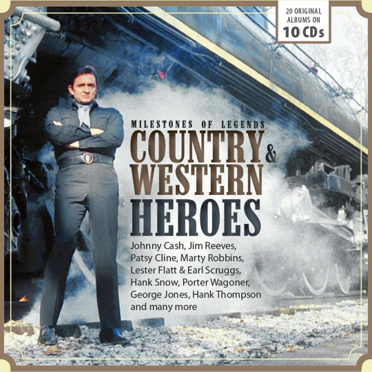 Country and Western Heroes 10 CDs