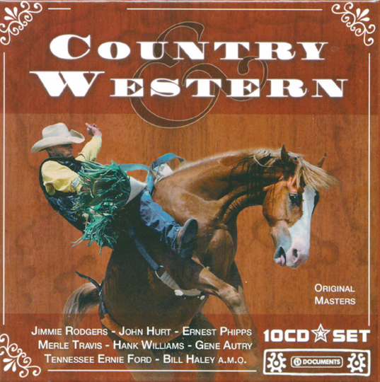 Country & Western 10 CDs