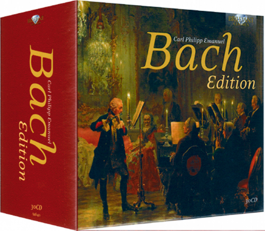 C. P. E. Bach Edition 30 CDs