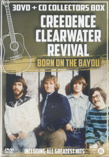 Creedence Clearwater Revival 3 DVDs & CD