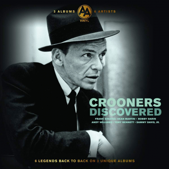 Crooners Discovered. 3 LPs.