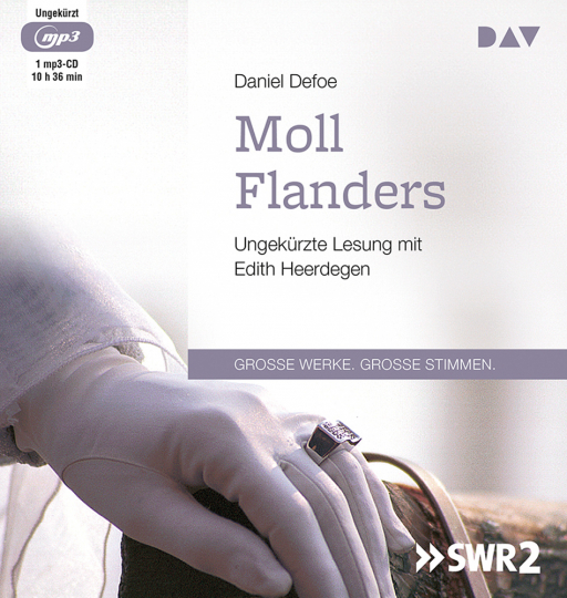 Daniel Defoe. Moll Flanders. mp3-CD.