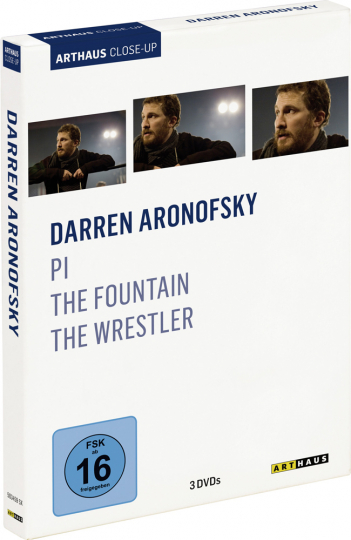Darren Aronofsky. Pi, The Fountain, The Wrestler. 3 DVDs.