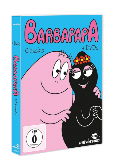 Das Barbapapa DVD-Paket. 4 DVDs.