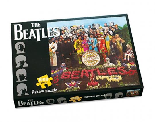 Das Beatles Sgt. Pepper Cover Puzzle.