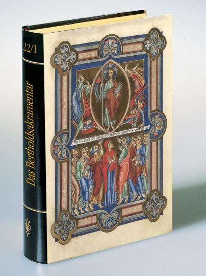 Das Berthold Sakramentar. Mit einem originalen Faksimile-Blatt. Glanzlichter der Buchkunst Band 22/2.