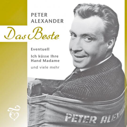 Peter Alexander. Das Beste. CD.