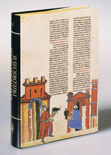 Das Falkenbuch Friedrichs II. Mit einem originalen Faksimile-Blatt.