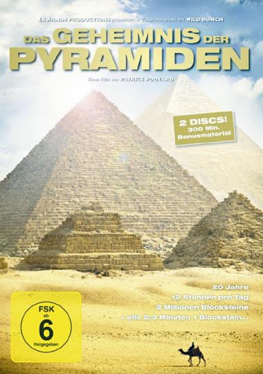 Das Geheimnis der Pyramiden 2 DVDs