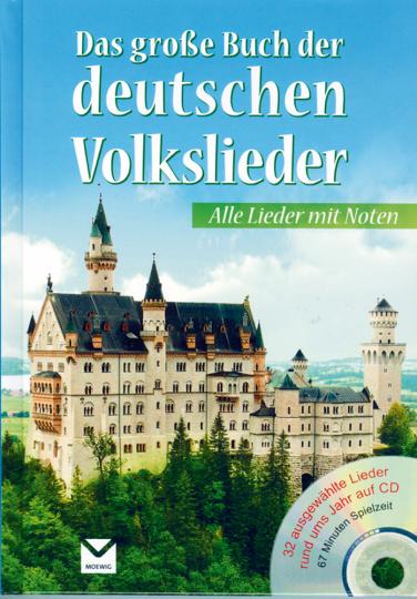 Das große Buch der deutschen Volklieder Buch & CD