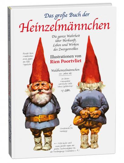 Das große Buch der Heinzelmännchen. Die ganze Wahrheit über Herkunft, Leben und Wirken des Zwergenvolkes.