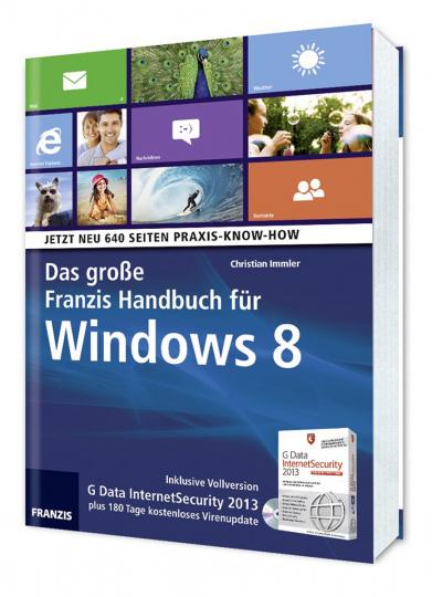 Das große Franzis Handbuch für Windows 8 mit CD-ROM