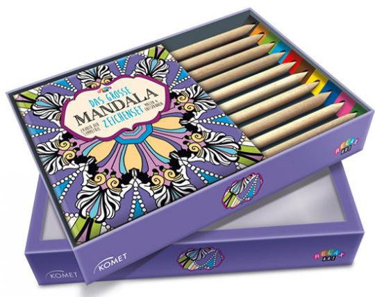 Das große Mandala-Zeichenset. Zauber der Symmetrie. Malen & Entspannen.