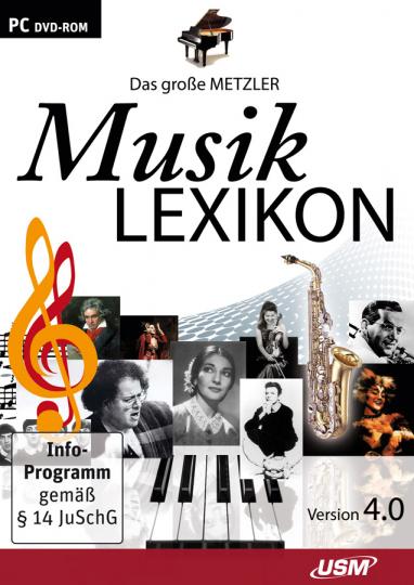 Das große Metzler Musiklexikon 4.0. DVD-ROM.