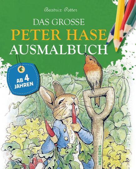 Das große Peter-Hase-Ausmalbuch.