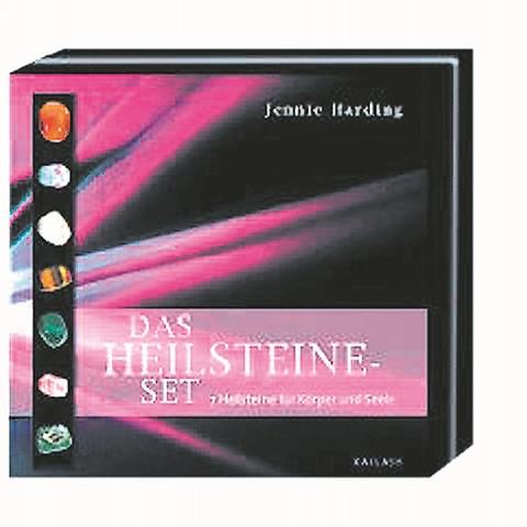 Das Heilsteine- Set Buch + 7 Heilsteine