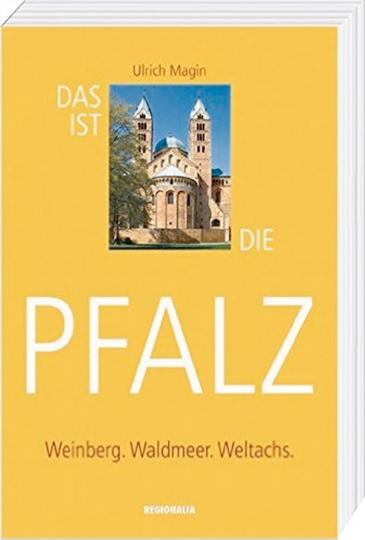 Das ist die Pfalz - Weinberg. Waldmeer. Weltachs