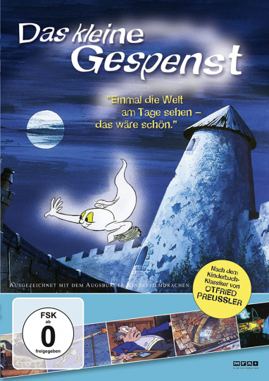 Das kleine Gespenst. DVD.
