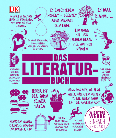 Das Literatur-Buch. Wichtige Werke einfach erklärt.