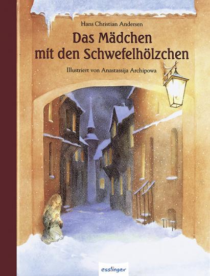Das Mädchen mit den Schwefelhölzchen. Künstlerbuch.