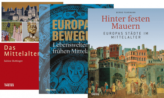 Das Mittelalter-Paket. 3 Bände.