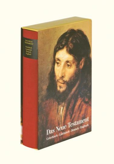 Das Neue Testament. Viersprachige synoptische Ausgabe.