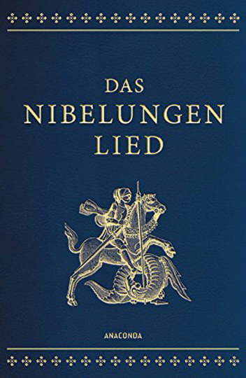 Das Nibelungenlied. Ledereinband.