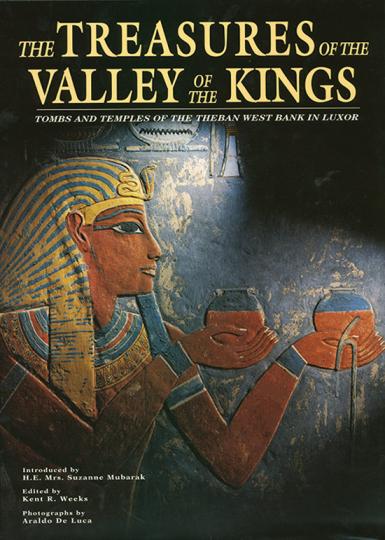 Das Tal der Könige und seine Schätze. Gräber und Tempel in Theben.