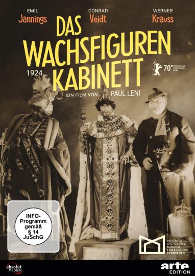 Das Wachsfigurenkabinett (1924). DVD.