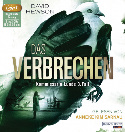 David Hewson. Das Verbrechen. Kommissarin Lunds 3. Fall. 3 mp3-CDs.