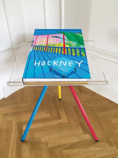David Hockney. A Bigger Book.
