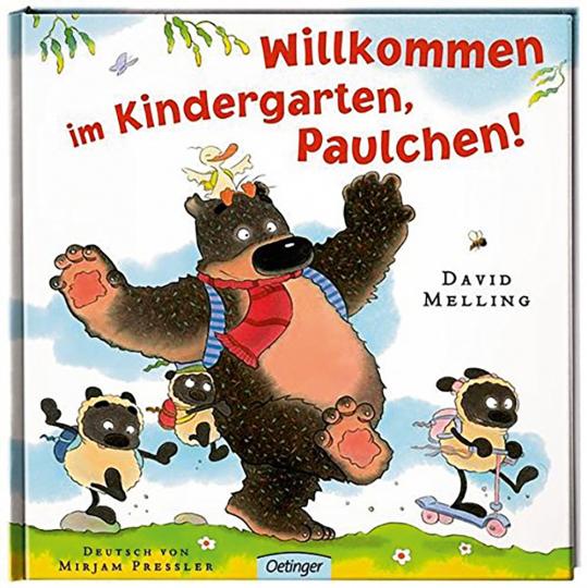 David Melling. Willkommen im Kindergarten, Paulchen!
