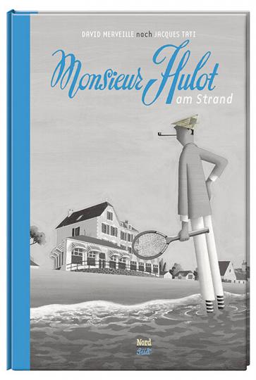 Monsieur Hulot am Strand.